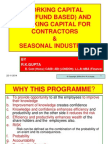 Working Capital NFB for Contractor and Seasonal Industires