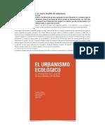 Urbanismo Ecológico SALVADOR RUEDA