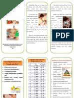 Leaflet Gizi Anak 28,5x21,5
