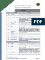 VÍAS NUEVAS de LIMA - Descripción Funcional Obras Mayores