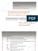 Investment Grade Audit