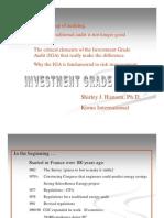 Investment Grade Audit