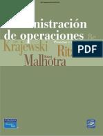 Administración de Operaciones 8va Ed. - Krajewski, Ritzman & Malhotra