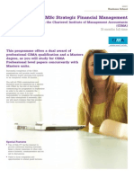 MSc Strategic Financial Management