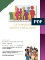 La Población de España y de Europa