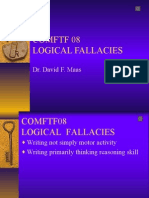 COMFTF 08-A Logical Fallacies PPT (With Sound) Rev 4-12-05