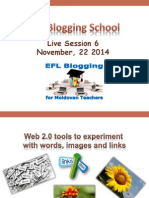 EFL Blogging School Online Session 6