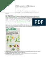 Basics of GMOs
