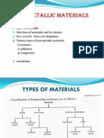 Non Metallic Materials Used for Machine Elements