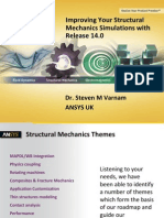 ANSYS Structural Mechanics Update