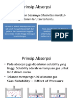 Prinsip Absorpsi