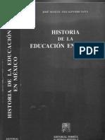 Villalpando Nava Historia de La Educacicon en México