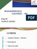 MC Curs 8