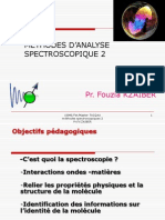 Initiation a La Spectroscopie Corrige Partie I 2014
