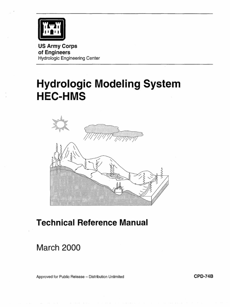 hec hms technical reference manual cpd 74b conceptual model