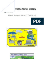 Design of Public Water Supply Systems