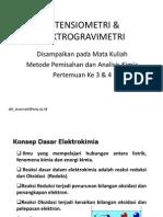 Potensiometri & Elektrogravimetri_2