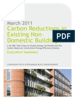 Carbon Reduction in Non-domestic Buildings - GBC Report