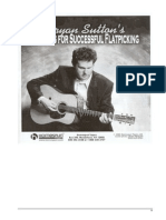 ! BRYAN SUTTON - Secrets for Successful Flatpicking