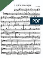 Valse Melancolique Chopin