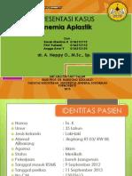 Anemia Aplastik PPT