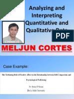 MELJUN CORTES Data Analysis Presentation