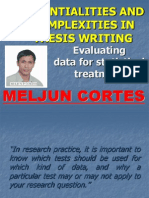 MELJUN CORTES Evaluating Data Statistical Treatment