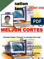 MELJUN CORTES Information System Front End