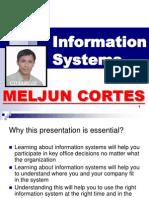 MELJUN CORTES Introduction to Information System