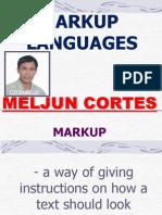MELJUN CORTES Mark Up Languages