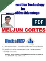 MELJUN CORTES MIS Competitive Advantage