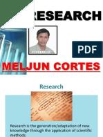 MELJUN CORTES Research