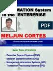 MELJUN CORTES System Types