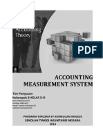 Accounting Measurement System