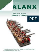 Phalanx List