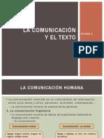 La Comunicación y El Texto