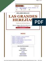 Hilaire Belloc. Las Grandes Herejias