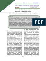 TOPICAL LIPOSOMAL GEL A NOVEL DRUG DELIVERY SYSTEM (KELOMPOK V).pdf