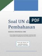 Soal Pembahasan UN SMK Bahasa Indo