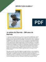 National Geographic Brasil - O QUE DARWIN NÃO SABIA