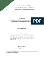 La gestión de la seguridad durante el gobierno de Nestor Kirchner
