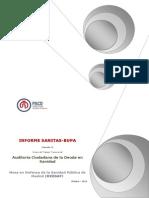 Informe Sanitas BUPA 2014