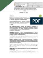 Pr-sgsst – Ae – 004 Procedimiento Para El Control Del Programa de Capacitación y Sensibilización de Puestos Claves en Obra