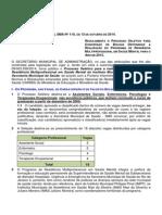 Edital Sma Nº 110 Rm Saúde Mental 2015