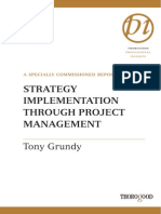 Strategy Implementation Through Project Management