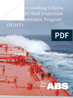 ABS Inspection Grading Criteria