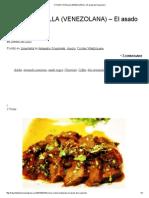 Cocina Criolla (Venezolana) – El Asado de Scannone