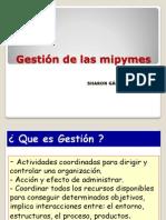 Gestión de Las Mipymes
