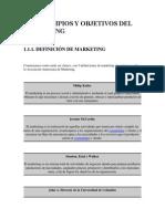 Manual de Marketing Investigación Comercial Plan de Marketing
