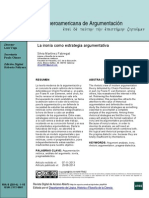 Revista Iberoamericana de Argumentación - La ironía como estrategia argumentativa - Silvia Martinez Fabregat